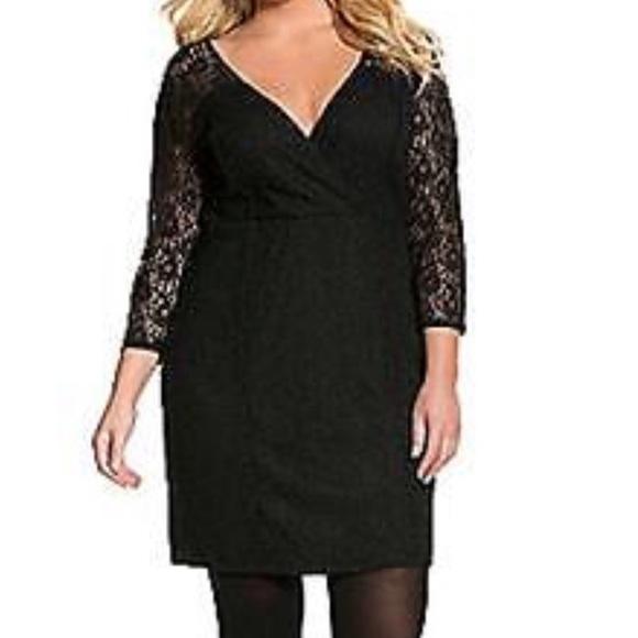Lane Bryant Dresses & Skirts - Lane Bryant Lace Midi Dress NWT Size 24